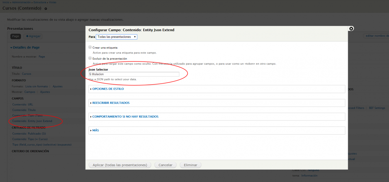 Adding native JSON storage support in Drupal 7 or how to mix