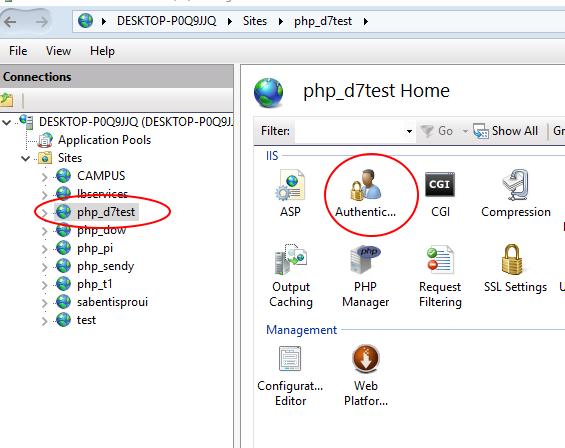 Installing Drupal 8 on Windows and SQL Server | Drupal On
