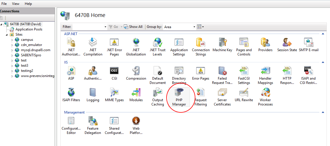 Installing Drupal on Windows and SQL Server | Drupal On Windows